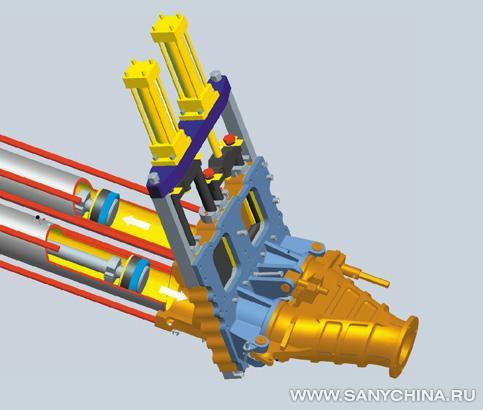 Гидравлический запорный клапан (схема) .